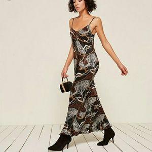 Reformation Sloan Dress in Safari 2